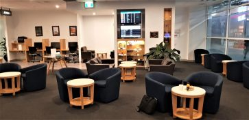 REX Lounge Sydney overview
