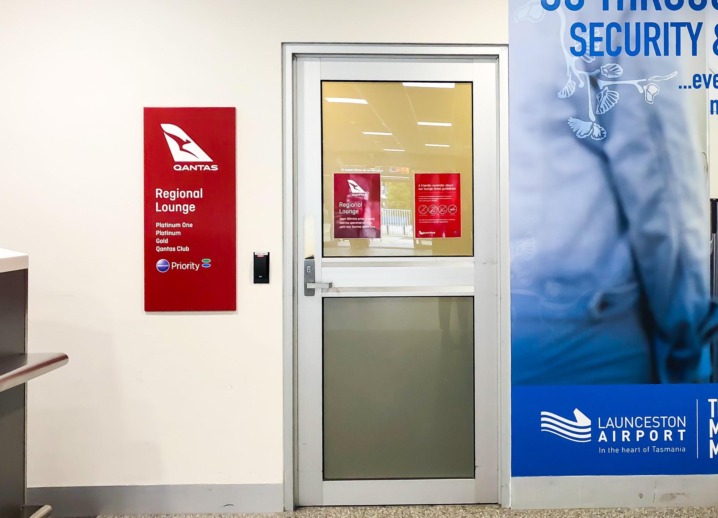 Qantas Regional Lounge Launceston
