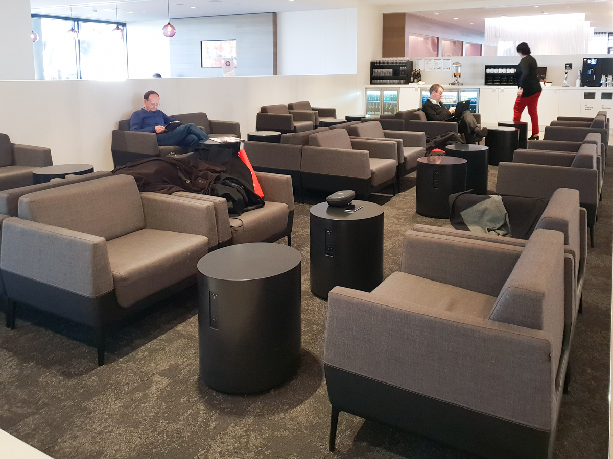 Air New Zealand Lounge seating area