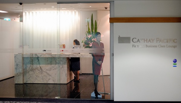 Cathay Pacific Business and First Class Melbourne Lounge