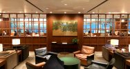 Cathay Pacific The Deck Business Class Lounge Hong Kong | Point Hacks