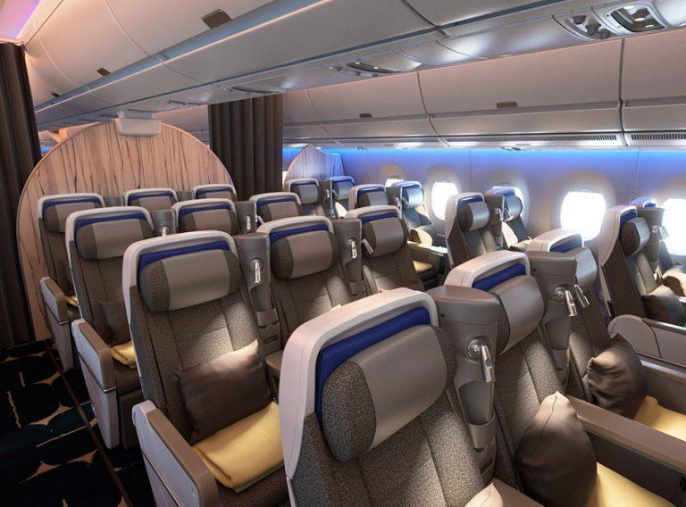 China Airlines A350 Premium Economy