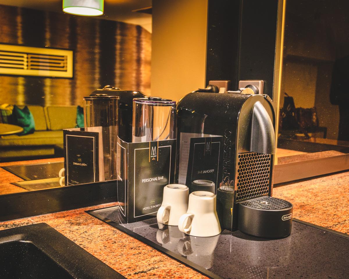 St. Moritz Queenstown coffee machine