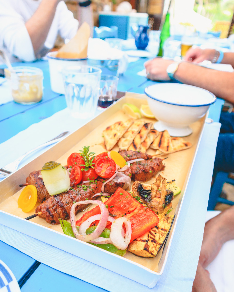 Blue Palace Crete Mediterranean Isola food