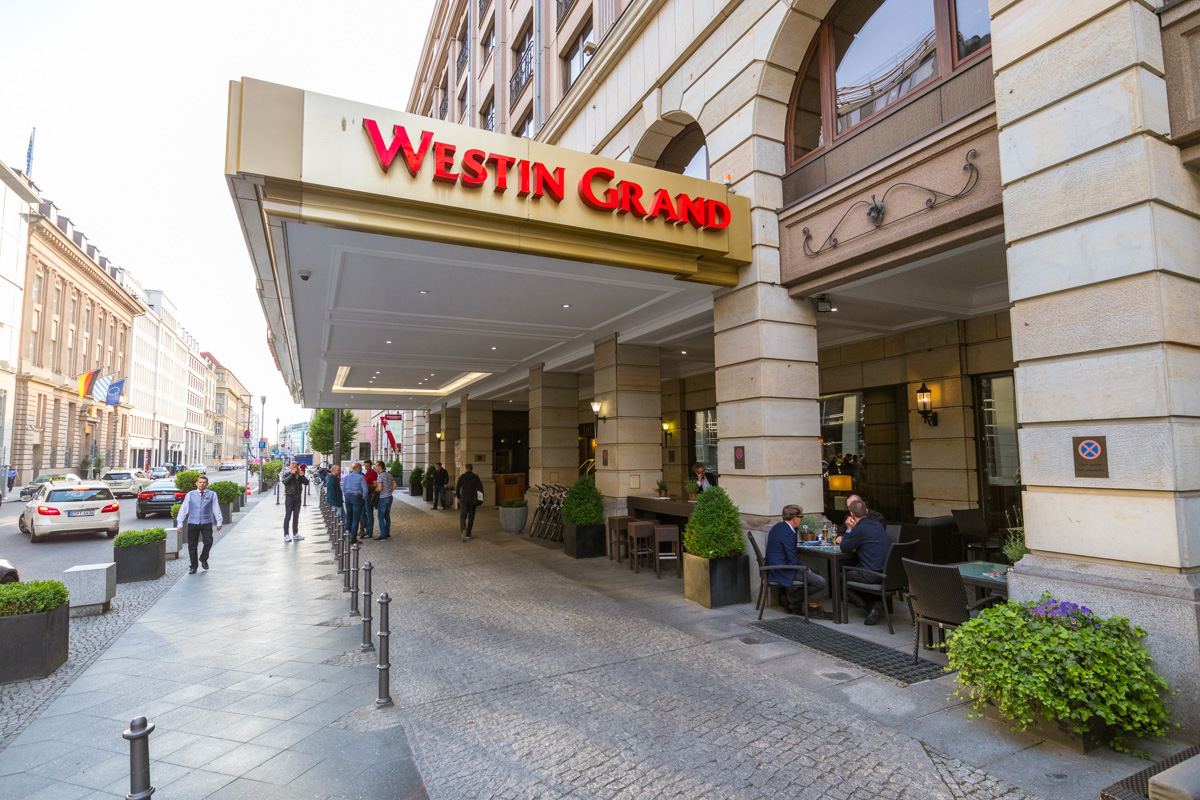 The Westin Berlin outside terrace of Relish Restaurant