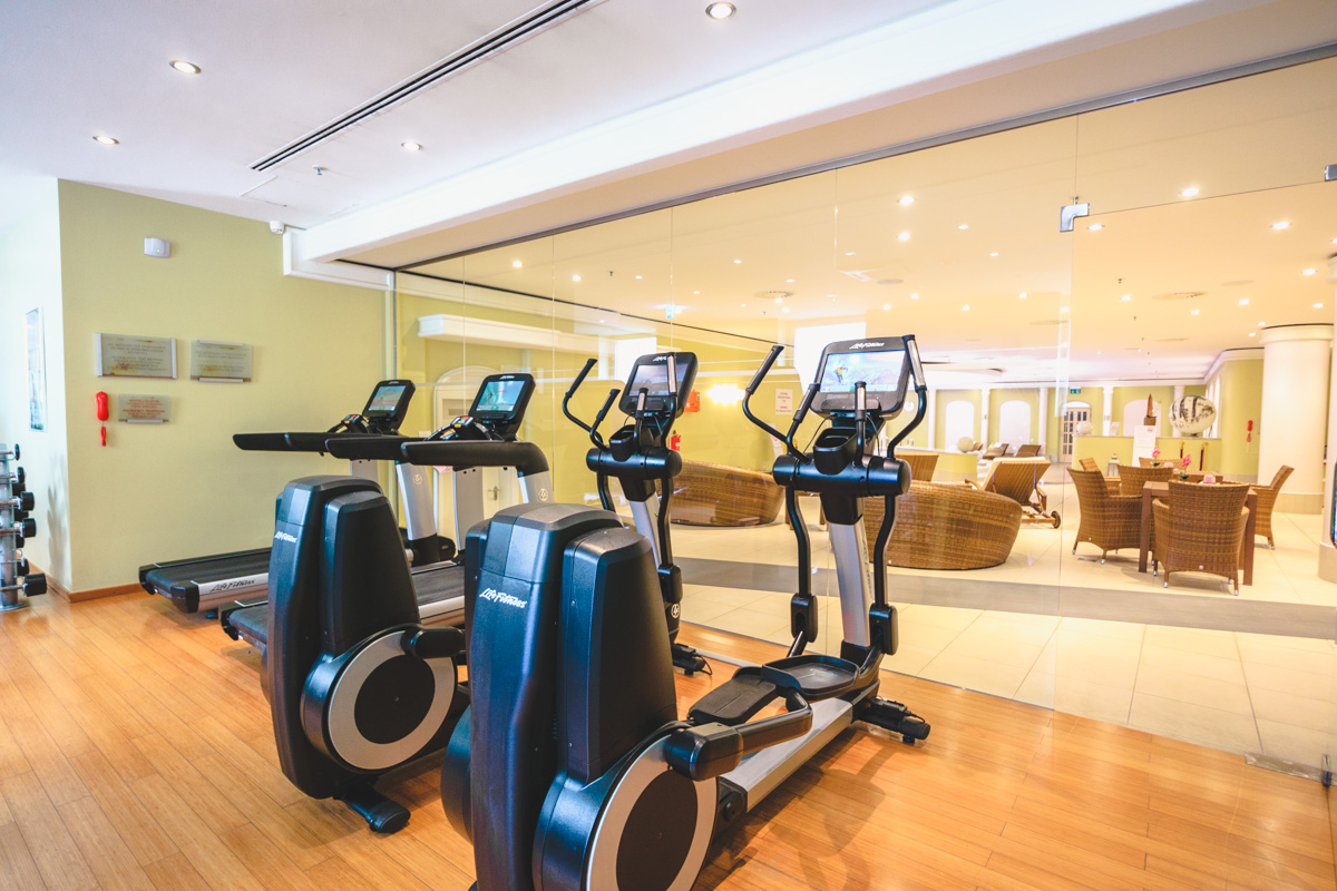 The Westin Berlin gym