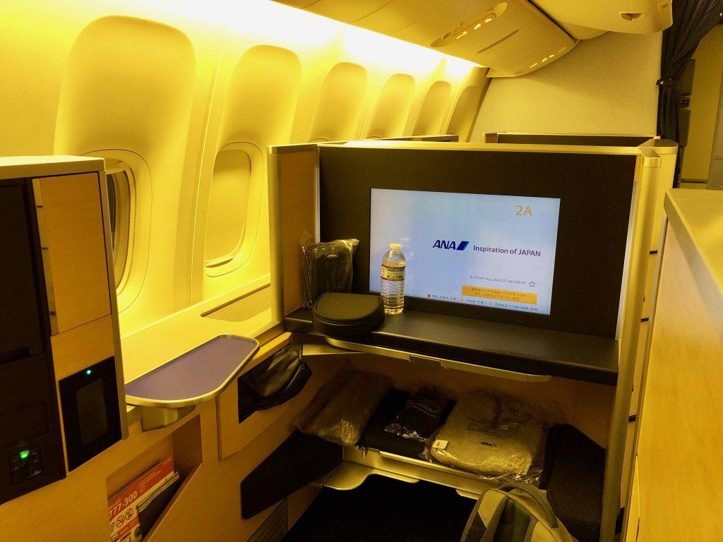 ANA 777 First Class