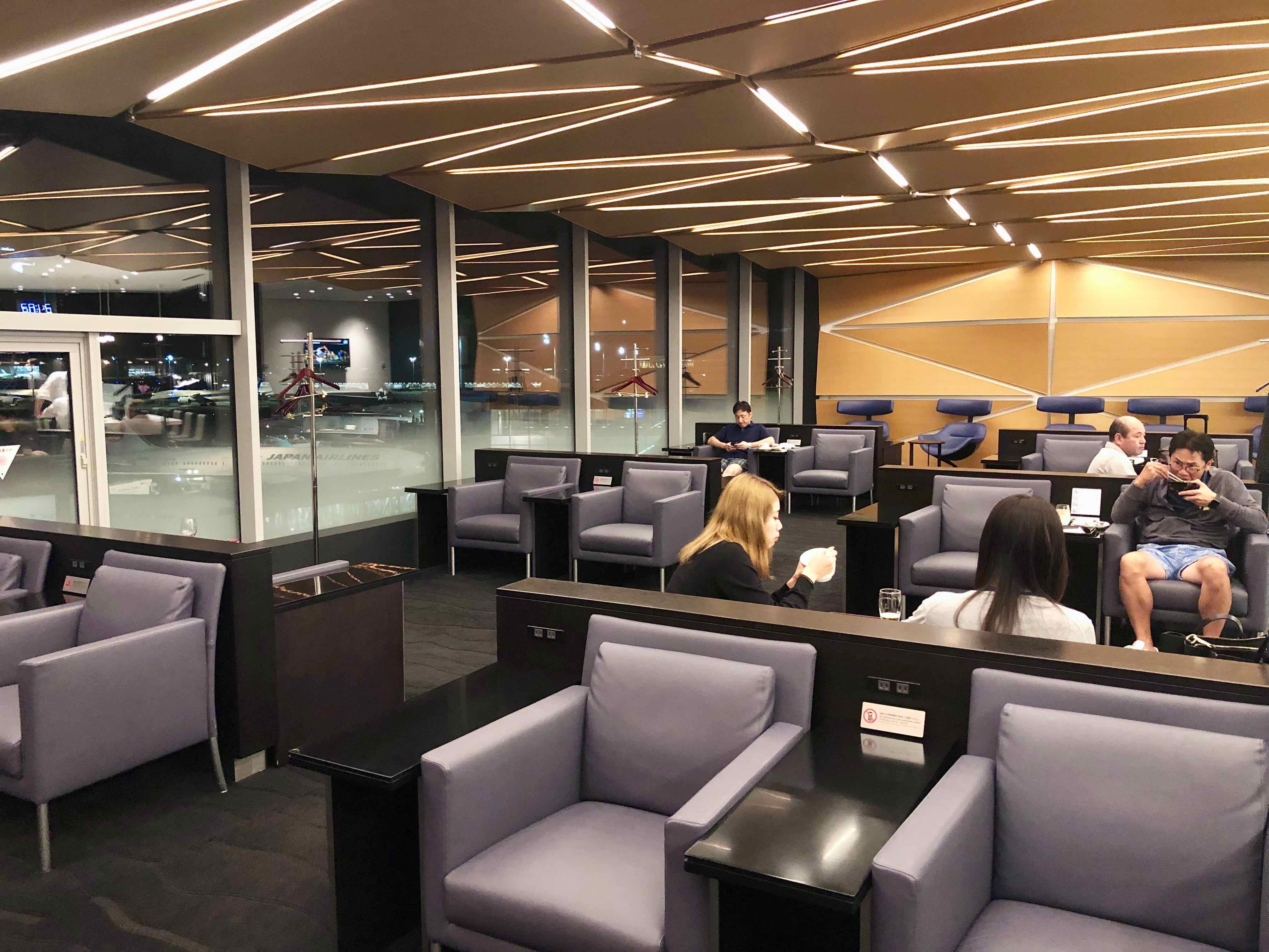 ANA Suite Lounge Haneda
