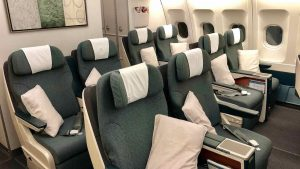 Cathay Dragon A330 Business Class overview