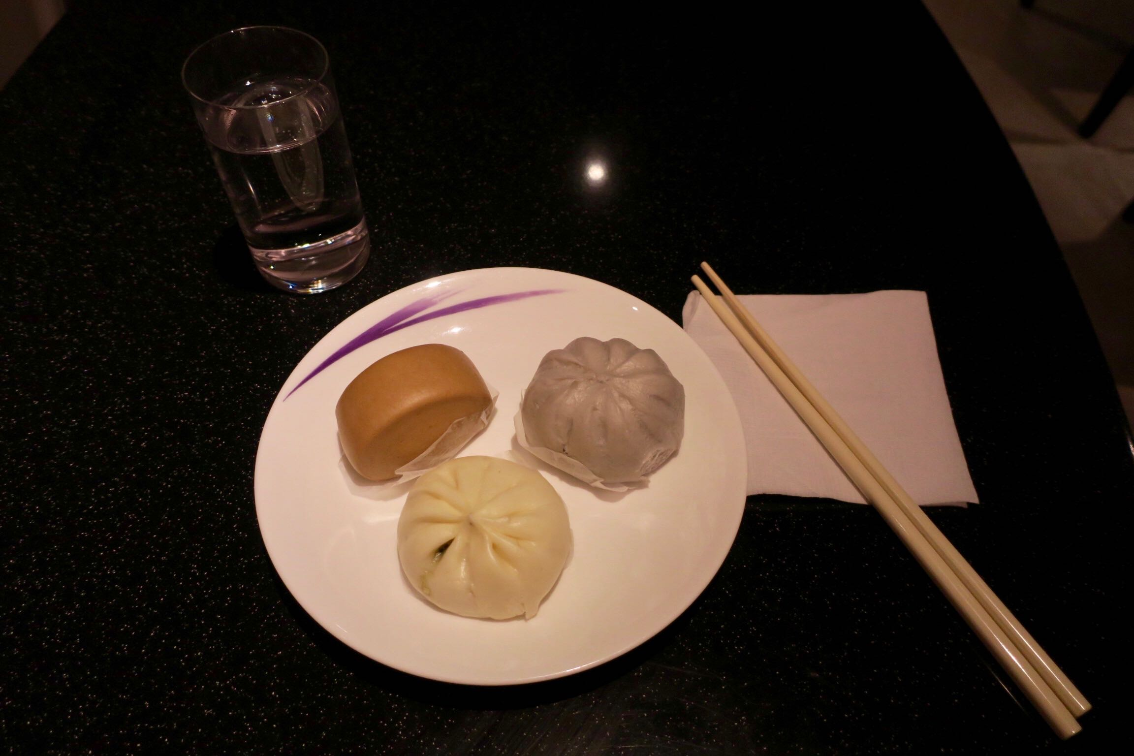 China Airlines Lounge food