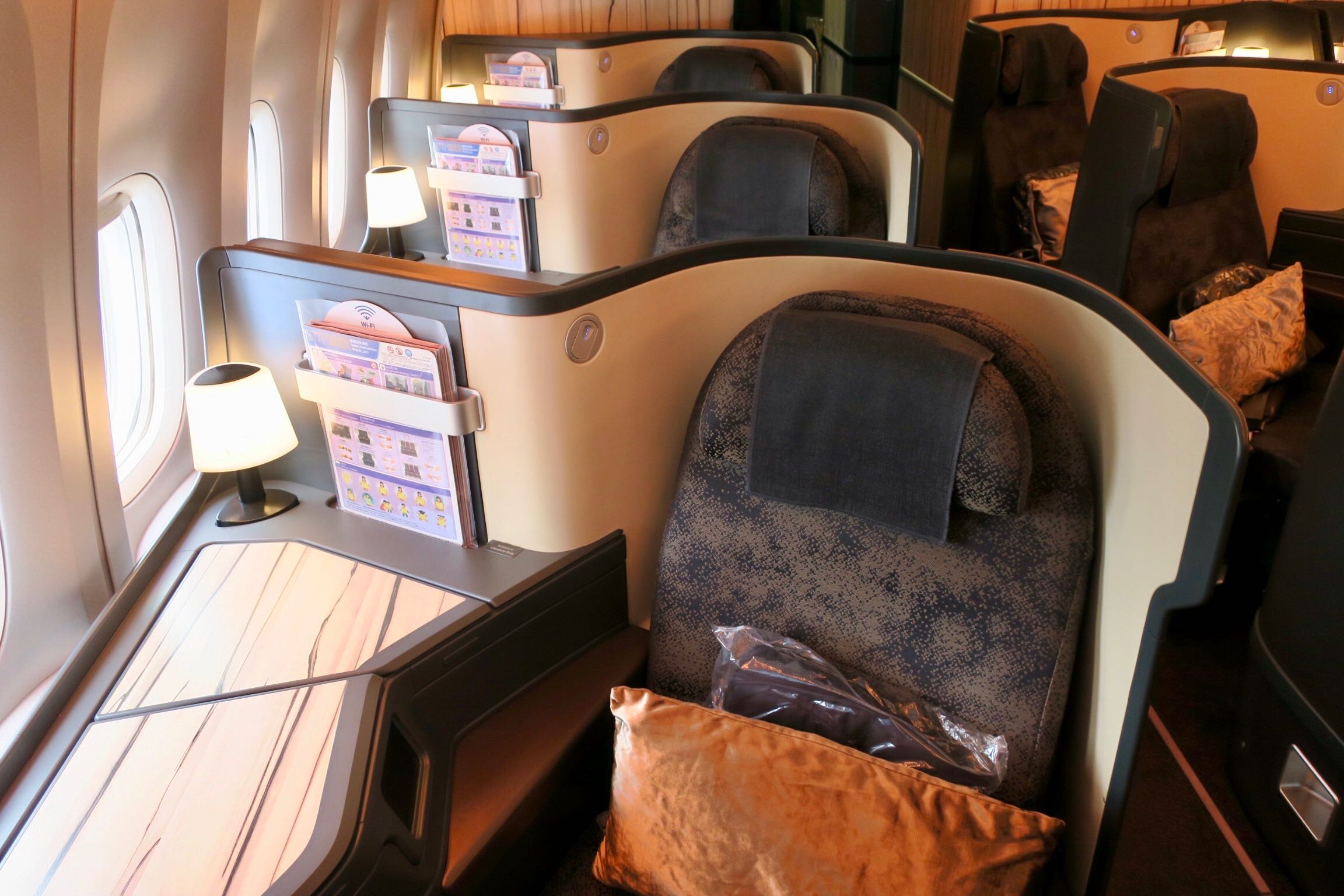 China Airlines Business Class seat