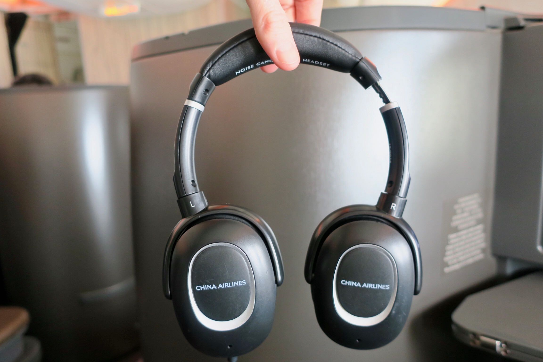 China Airlines Business Class headphone