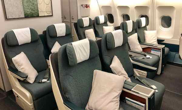 Cathay Dragon A330 Business Class