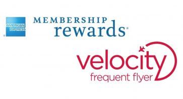 15-25% Velocity Points transfer bonus for American Express cardholders