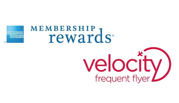 AMEX Membership Rewards and Velocity Frequent Flyer logo