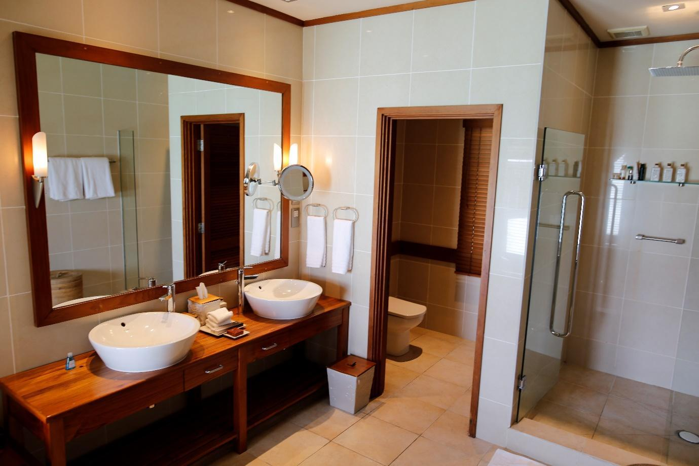 Conrad Rangali Maldives bathroom