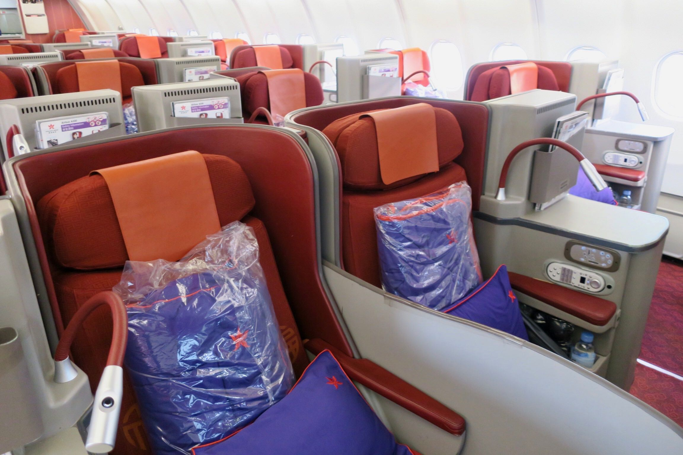 Hong Kong Airlines A330 Business Class seat