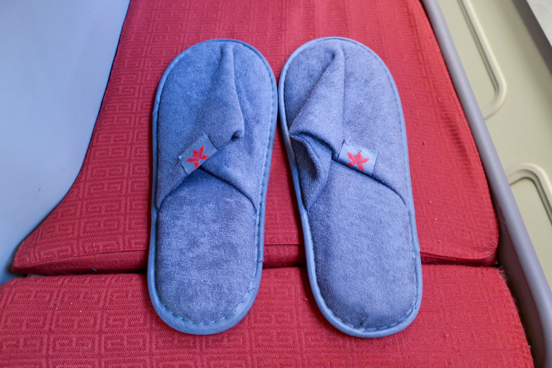 Hong Kong Airlines A330 Business Class slippers