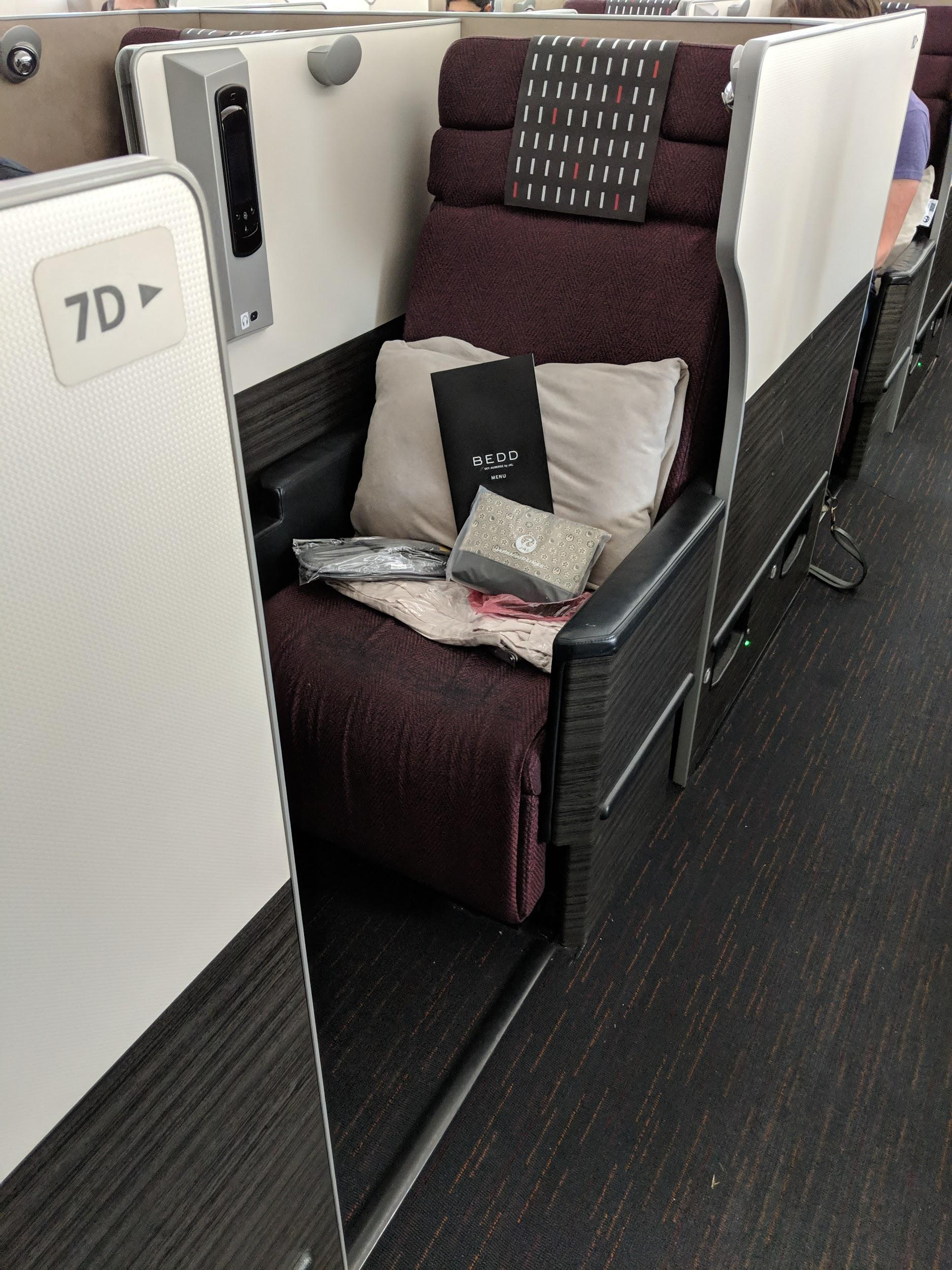 Japan Airlines Business Class | Point Hacks