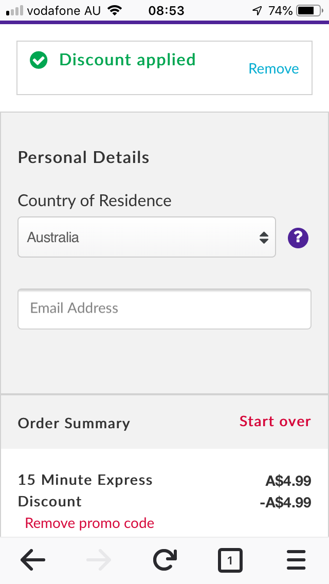 Virgin Australia Business Class inflight internet