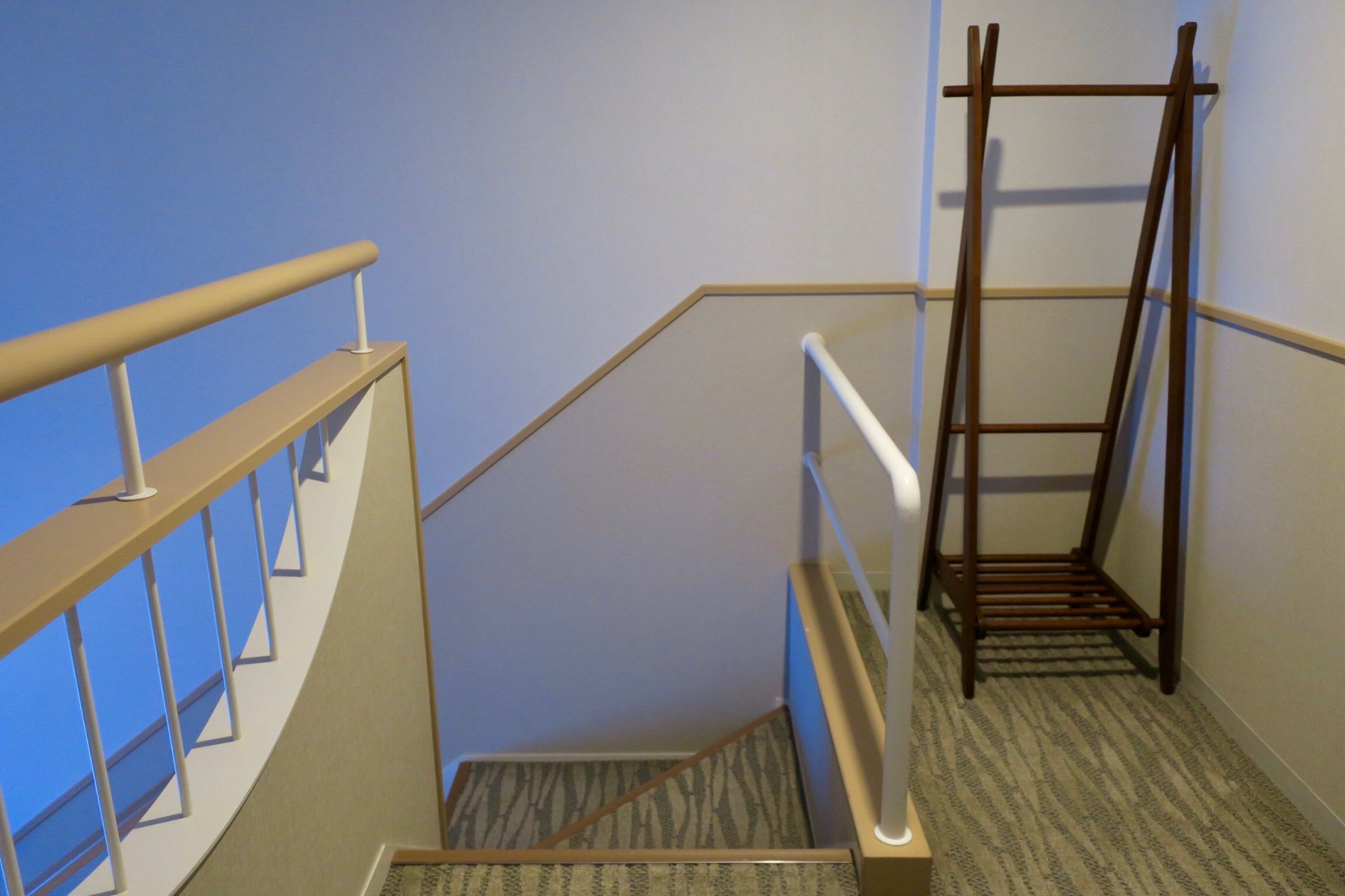 The Westin Rusutsu Resort Suite Room staircase at the entrance