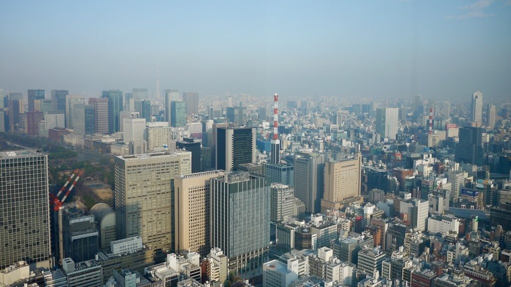View from the Andaz Tokyo