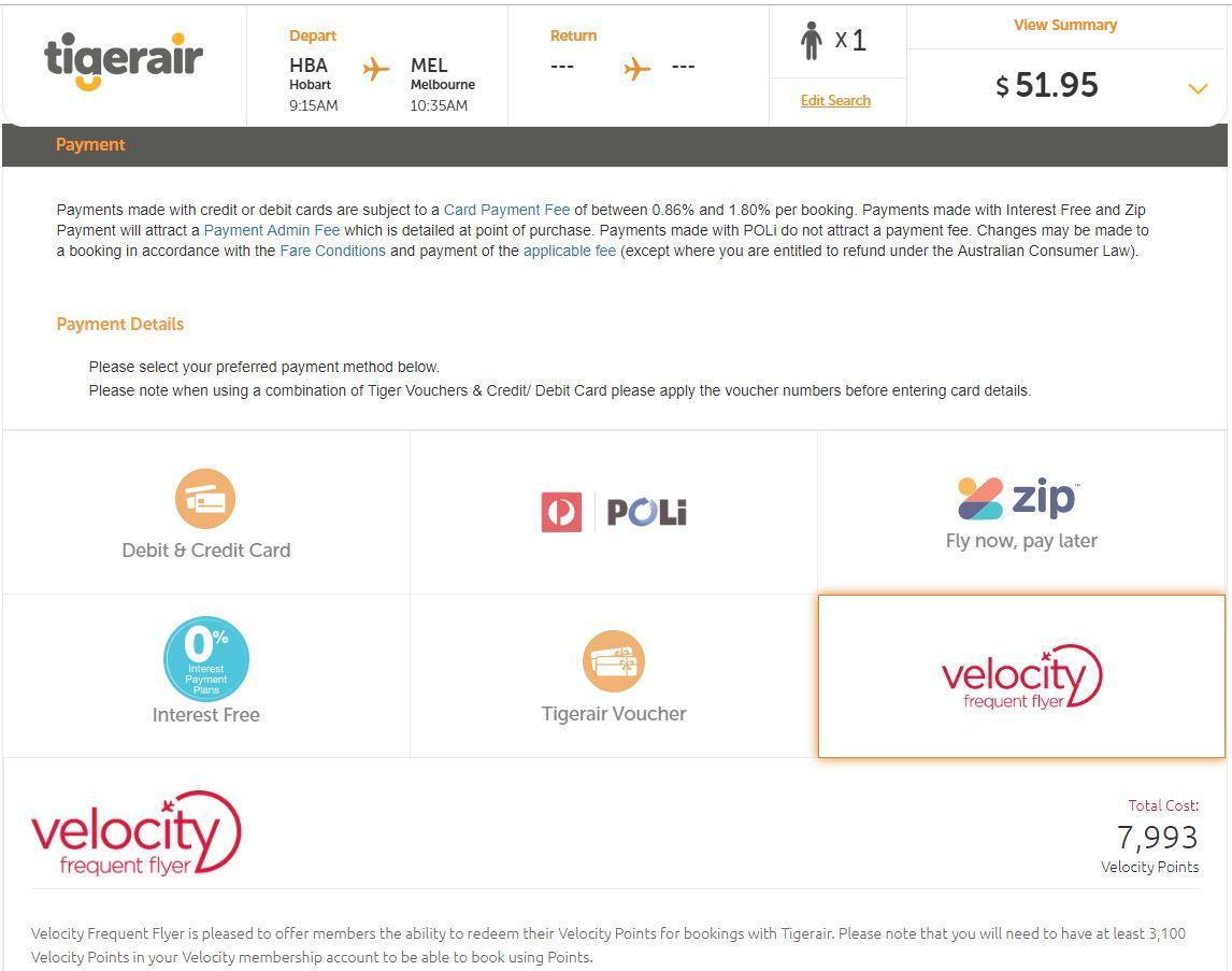 Tigerair Australia 737-800 Economy overview | Point Hacks