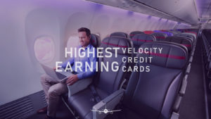 Velocity credit cards that earn the highest points