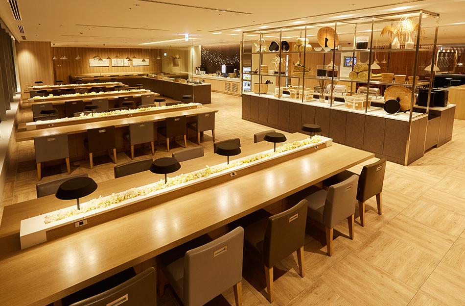 JAL Sakura Lounge Haneda