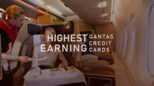 Qantas credit cards that earn the highest points