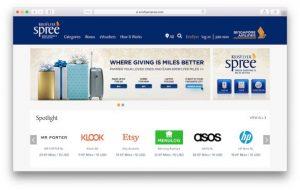 Earn 20% bonus KrisFlyer miles on online purchases through KrisFlyer Spree