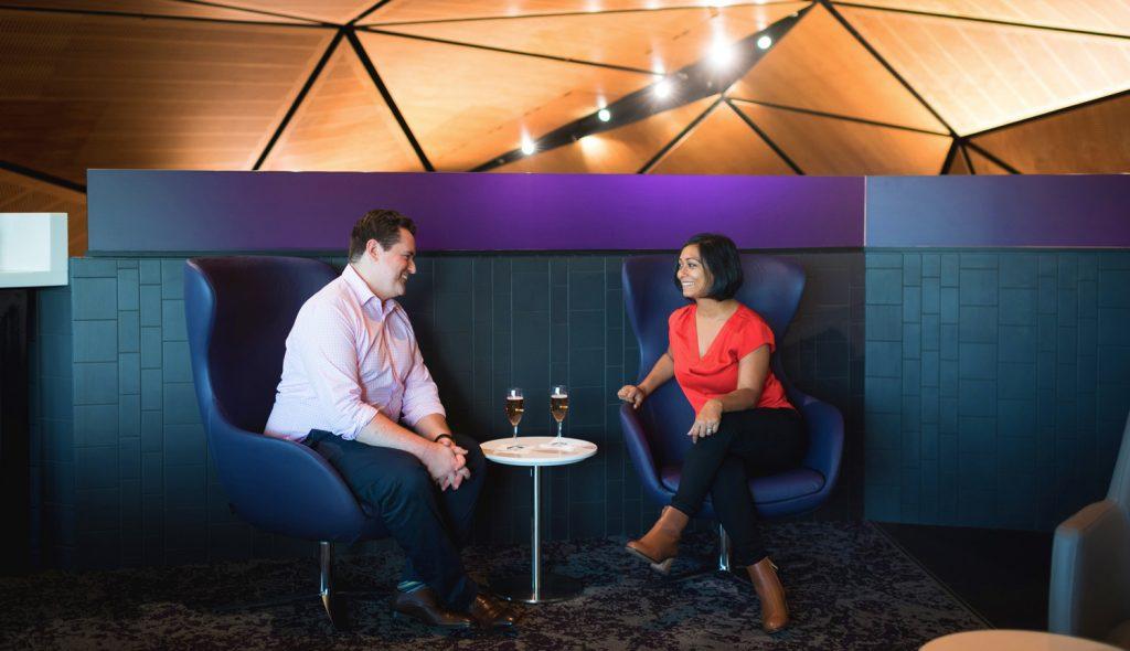 Virgin Australia Lounge Wellington