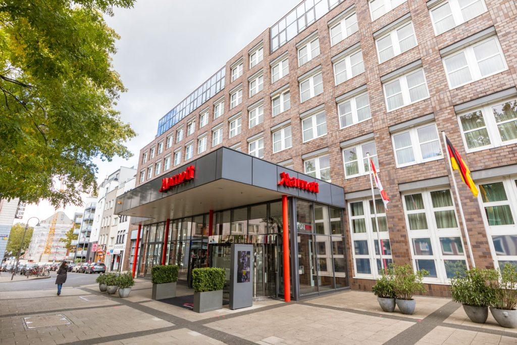 Cologne Marriott facade