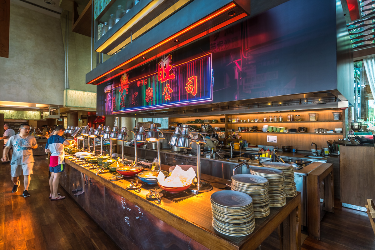 W Hotel Singapore Breakfast | Point Hacks