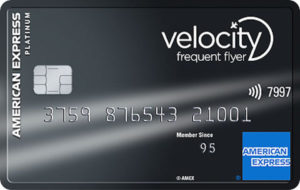 50,000 bonus Velocity Points with the Amex Velocity Platinum Card