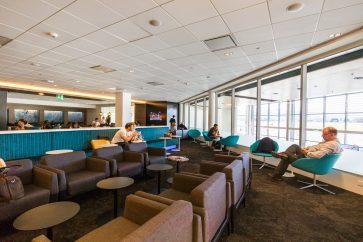 Air New Zealand Queenstown Regional Lounge overview