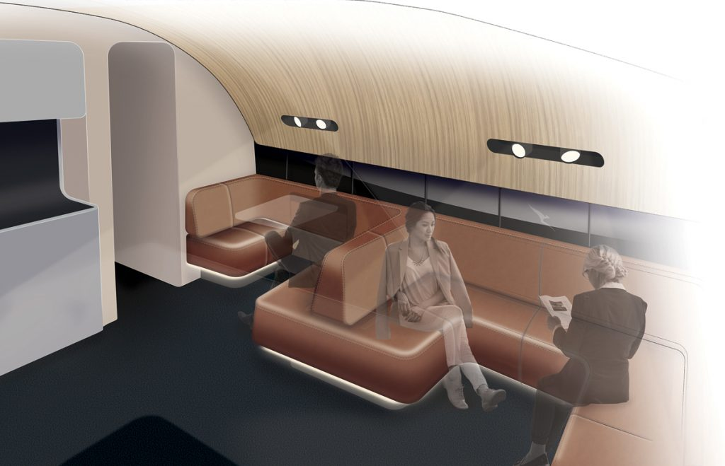 New Qantas A380 lounge