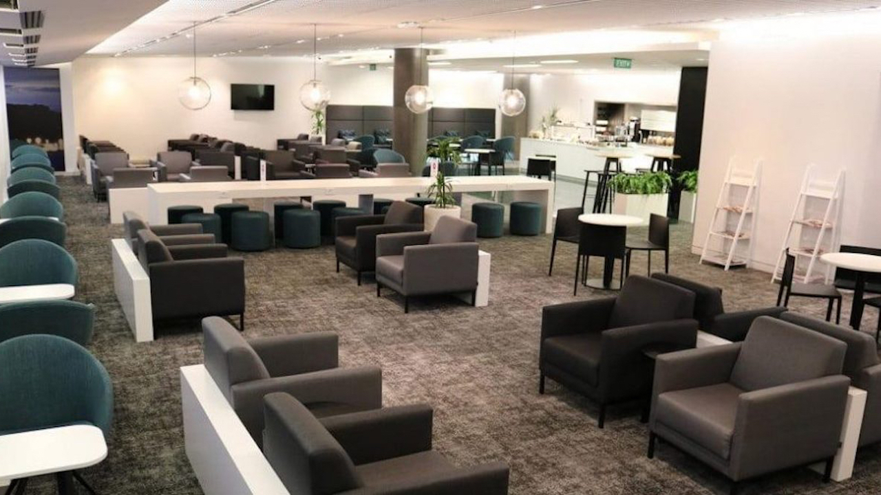 Air New Zealand Wellington International Lounge