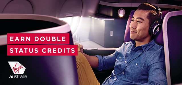Virgin Australis double Status Credits
