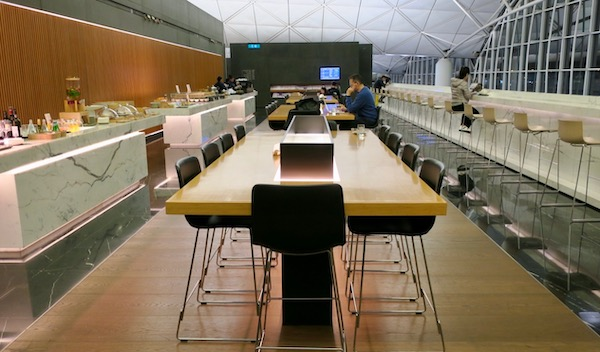 Cathay Pacific The Wing First Class Lounge | Point Hacks