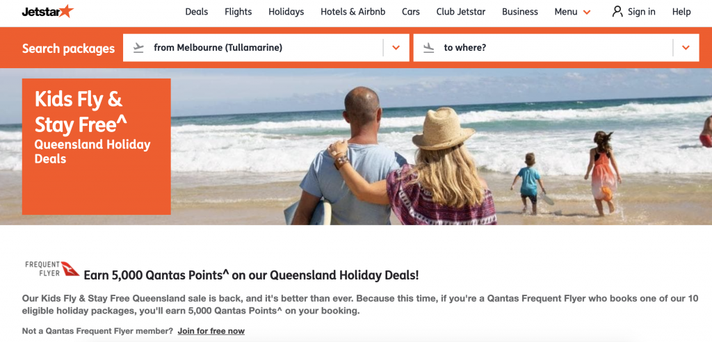 Jetstar Holidays promo May 2019 2