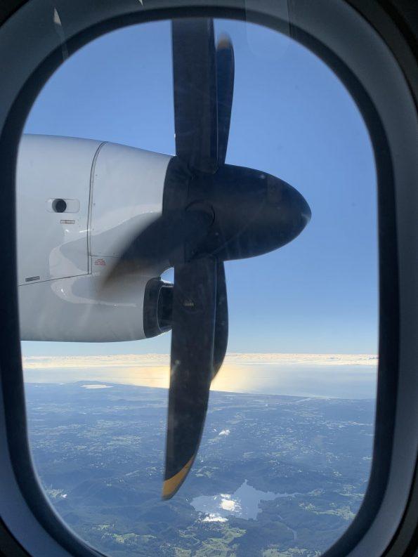 Qantaslink Dash-8-Q400 propeller