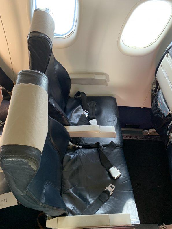 Qantas Dash-8-Q400 seat