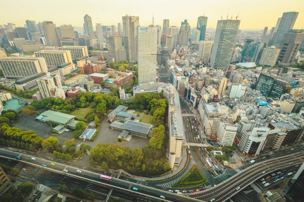 The Prince Gallery Kioicho Tokyo lounge view
