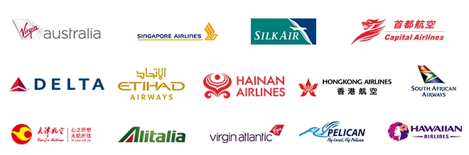 Velocity airline partners
