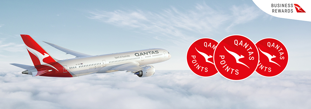 Qantas Business Rewards June 2019 promo
