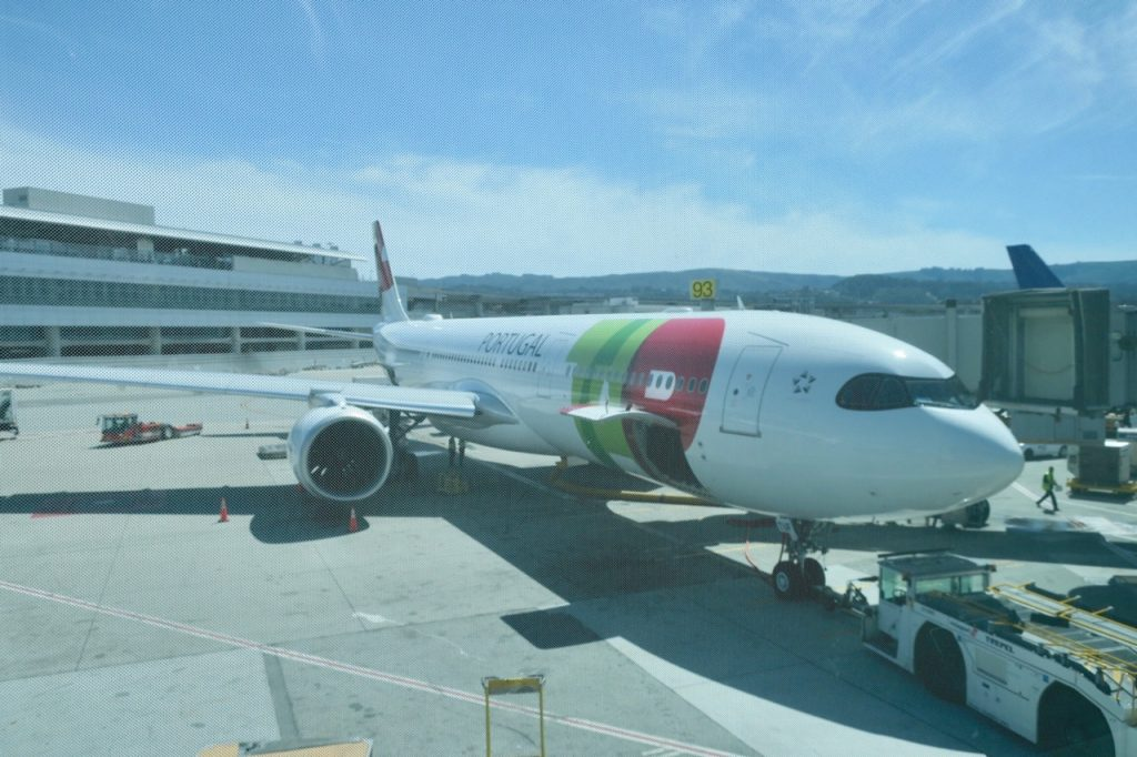 TAP Portugal A330neo at San Francisco Airport