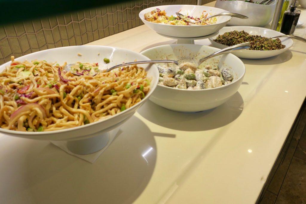 United Polaris Lounge SFO buffet