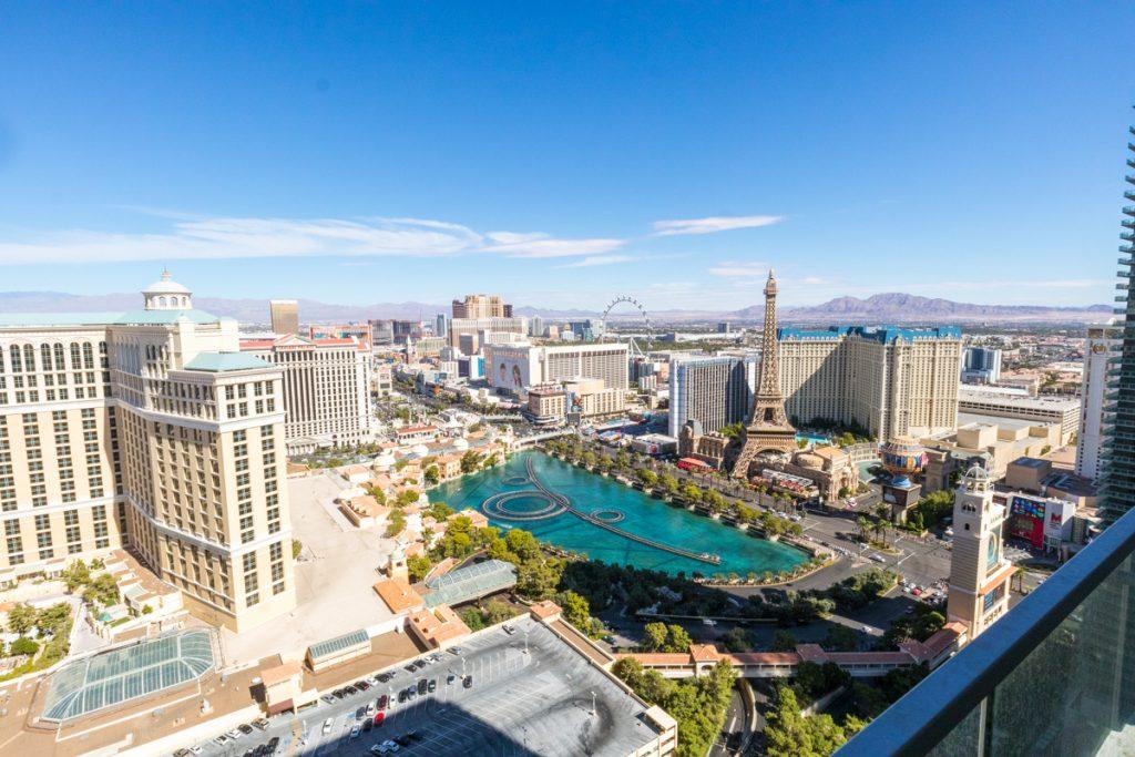 Cosmopolitan Las Vegas view
