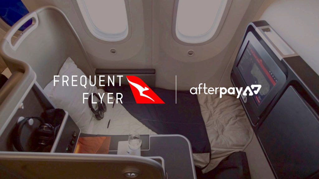 A new link with Qantas and Afterpay could be netting you more points.